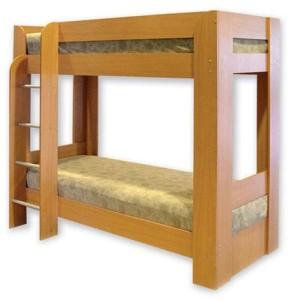 кровать двухярусная с лесницей