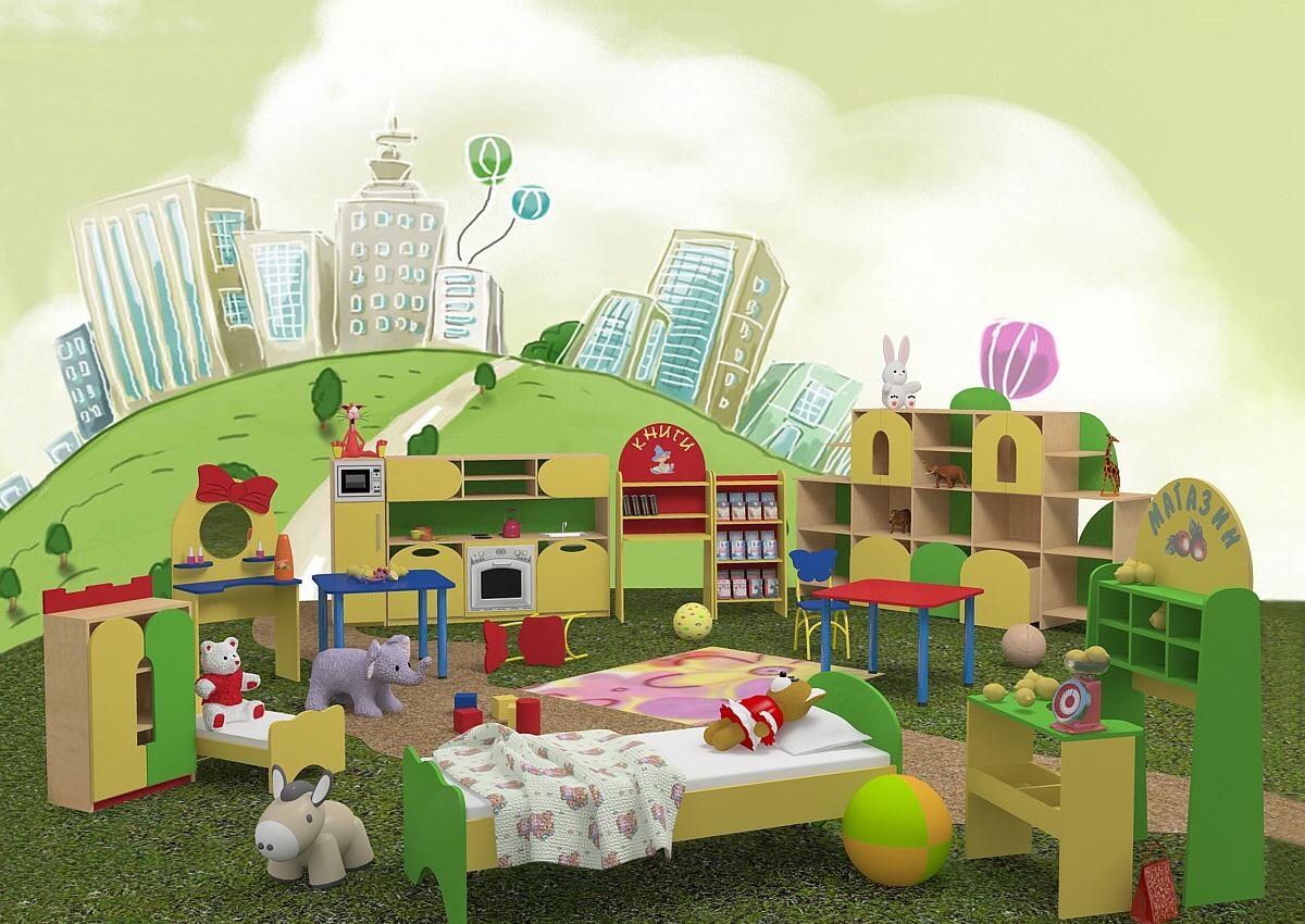 Мебель для детского сада, основные требования к изделиям и г.